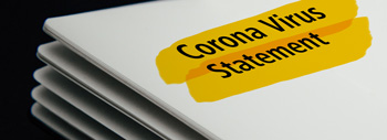 Corona Virus Statement 19-03-2020
