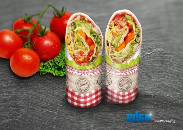 Nachhaltige Wrap Verpackung aus Papier im goodDay Design