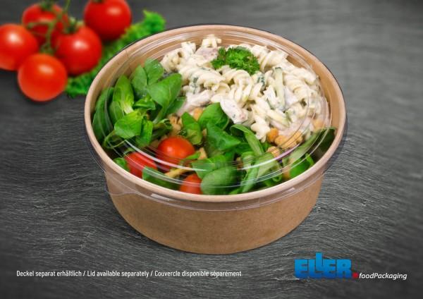 SaladBowl | umweltfreundliche Salatbox mit PLA Deckel groß